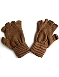 Shropshire Supplies Ladies Handy Thermal Fingerless Gloves with Spandex One Size