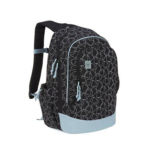 LÄSSIG Kinderrucksack Mädchen Kindergartentasche Kindergartenrucksack groß mit Brustgurt / Backpack Big, Spooky -