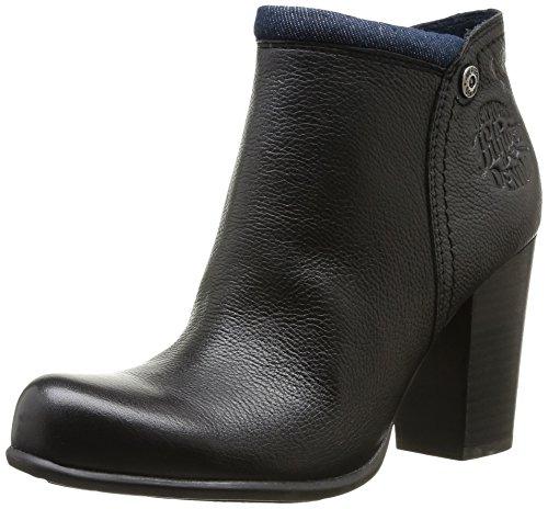 Hilfiger Denim Jade 6A Damen Stiefel & Stiefeletten Schwarz - Schwarz (990 Black)