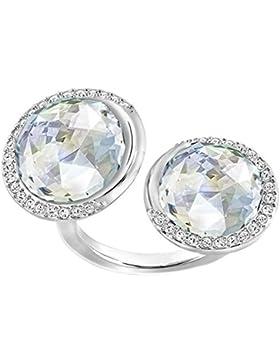 Swarovski Damen-Ring Except Double weiß Gr. 60 (19.1) - 5221580