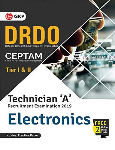 DRDO CEPTAM - Technician 'A' Tier I & II (Electronics)