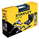 Stanley 8221074STN Accessoires pour compresseurs d'air, lot de 34