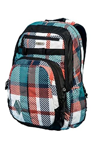 Nitro Snowboards Rucksack Chase Pack, Meltwater Plaid, 51 x 37 x 23 cm, 1131878014