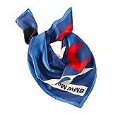 BMW Halstuch Logo Motorsport Motorrad 76618547295 100% Seide Bike