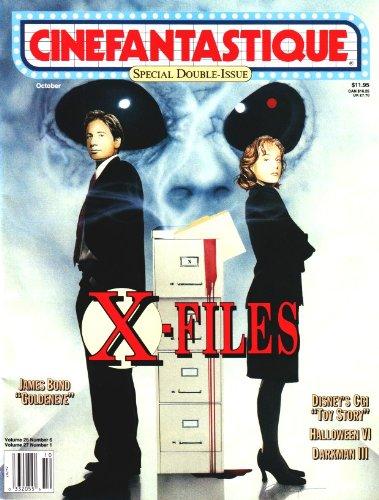 Cinefantastique - Volume 26 Number 6/Volume 27 Number 1 - October 1995 - Special Double-Issue - X-Files/James Bond Goldeneye/Disney's CGI Toy Story/Halloween VI/Darkman III