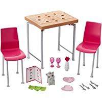 Barbie Kids Dining Table & Accessory Set From Debenhams Size