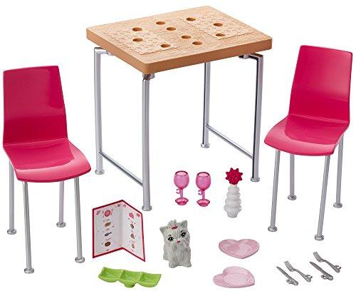 Barbie Mattel DVX45 – Inneneinrichtung: Esszimmer, Ankleidepuppen-Zubehör