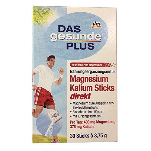DAS gesunde PLUS Magnesium Kalium Sticks direkt (30 Sticks à 3,75g)