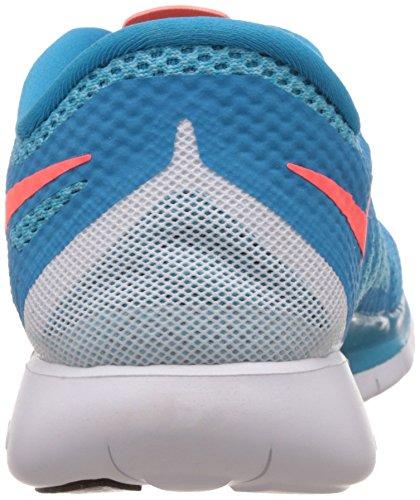 Nike Free 5.0, Chaussures de Running Homme Bleu (Blue Lagoon/Brght Crmsn/Clrwtr)