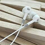 Ear Headphone with Mic for All Smartphones, White by KRYPT Design