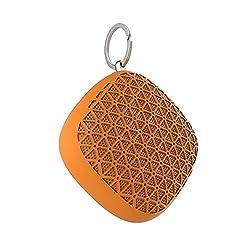 Artis BT16 Wireless Portable Bluetooth Speaker with Selfie Remote / TF Card Reader / Mic. (Orange)