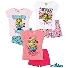 Minion - Pijama - para niña rosa 140