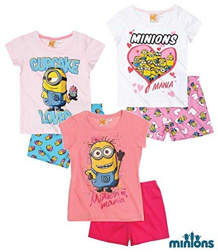 Pijama para niña color rosa