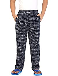 Kick Start Kids Cotton Diamond Printed Casual Sleepwear Navy Color Pyjama  Nightpant for Boys f401a421029f