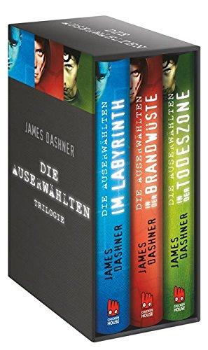 Buchseite und Rezensionen zu 'Die Auserwählten-Trilogie: Exklusive E-Box' von James Dashner