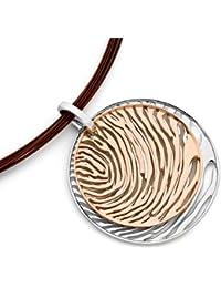 Jorge Revilla Plata Colgante - Does Not Include Collar - Rhodium Plated