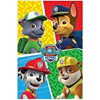 Paw Patrol - Coperta Plaid in Pile Coral Team