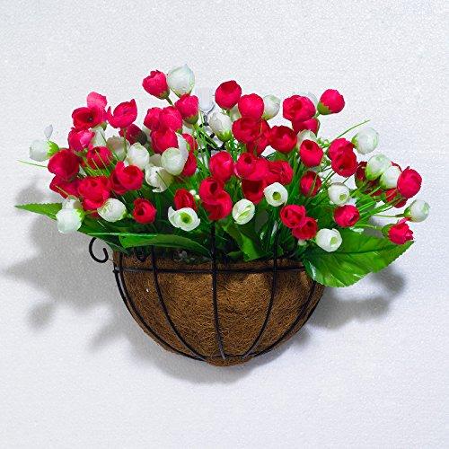 Beata.T Fresca insalata verde girasole fiore artificiale emulazione Flower Garden tavolo Balcone Aria condizionata, TV (Giardino Insalata Fresca)