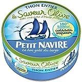 Petit Navire thon vapeur huile olive 130g (Prix Par Unité) Envoi Rapide Et Soignée
