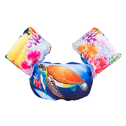 Zerlar Funny Cartoon Bubble Swim Vest Float Suit Schwimmhilfe für Kinder -