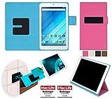 reboon Hülle für Acer Iconia One 8 B1-850 Tasche Cover Case Bumper | in Pink | Testsieger