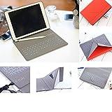 IQIYEVOLEW Custodia per Tastiera iPad Mini 4, iPad Mini 1/2/3Custodia in Pelle con Tastiera, Ultra Sottile Leggero Supporto Magnetico Impermeabile della Tastiera Bluetooth Wireless per iPad 20,1cm