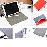 IQIYEVOLEW iPad Mini 4Tastatur Fall, iPad Mini 1/2/3Schutzhülle mit Tastatur, Ultra Slim Leder Leichte Magnet Ständer Wireless Bluetooth Wasserdicht Tastatur Cover für iPad 20,1cm