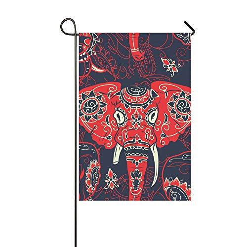 Home Dekorative Outdoor Doppelseitige Day Dead Bunte Zuckerschädel Indische Garten Flagge, haus Hof Flagge, garten Hof Dekorationen, saisonale Willkommen Outdoor Flagge Frühling Sommer Geschenk