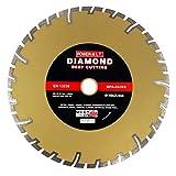 Diamanttrennscheibe Trennscheibe Ø 350 mm Beton Klinker Ziegel Trockenschnitt (350/25,4 DEEP)