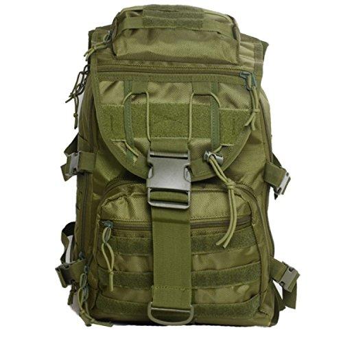 40L Militär Outdoor Tarnung Rucksack Wasserdicht Taktisch Bergsteigen Tasche Green
