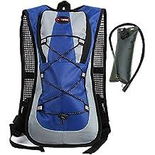 haoYK Mochila impermeable de 5 litros, ligera, bolsa de hidratación, bolsa de agua