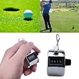 Three Secondz Handy Digital Hand Held Tally Clicker Counter 4 Digit Number Clicker Golf