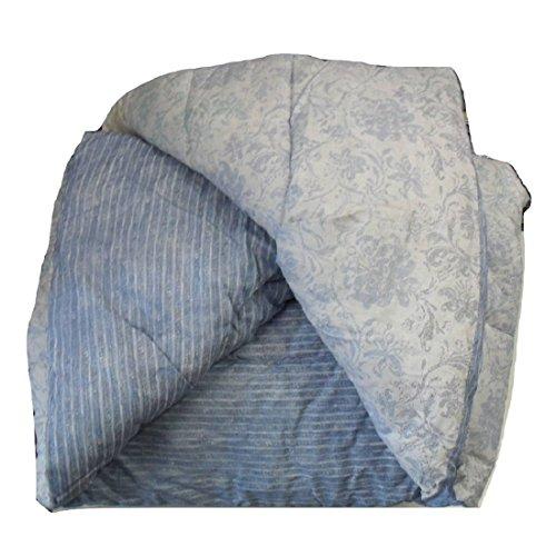 Trapunta elegance azzurro zucchi matrimoniale cm. 260x260 - double face