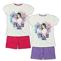 Originalissimo pigiama di Violetta a manica corta.  Pigiama originale di Violetta con etichetta Disney. Materiale: 100% cotone