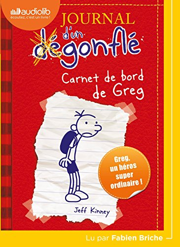 Journal d'un dégonflé 1 - Carnet de bord de Greg Heffley: Livre audio 1 CD MP3