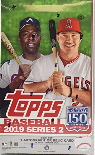 Topps 2019 Series 2 Baseball Hobby Box MLB