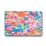 Dalliy Personal Custom peach blossom Fu?matten Doormat Outdoor Indoor 18