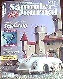Sammler Journal 3/98 - Distler Sportwagen der 50er, Spielzeug, Finnisches Glas (zeitloses Design), Karneval
