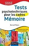 Tests psychotechniques pour les cadres : Mémoire...