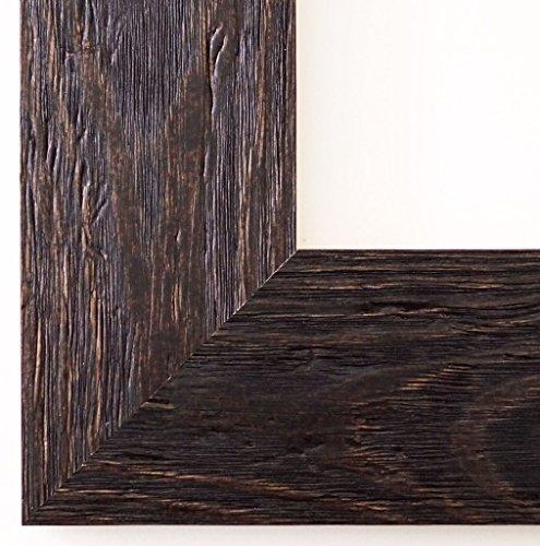 Spiegel Wandspiegel Badspiegel Flurspiegel Garderobenspiegel - Über 200 Größen - Venedig Dunkel Braun 6,8 - Außenmaß des Spiegels 60 x 80 - Wunschmaße auf Anfrage - Antik, Barock