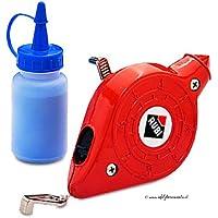 Rubi 70926 - Marcador líneas + polvo trazador (acero) color rojo