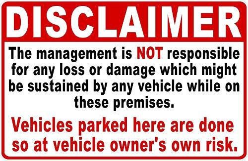 Joycenie Straßenschild aus Aluminium mit Aufschrift Warning Do Not Back Up Road Spikes, Schild Reifenschaden Wird Okkur Warnschild für Innen- und Außenbereich, 30,5 x 40,6 cm h79