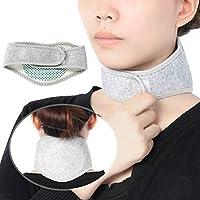 Protector para el cuello, soporte suave para la almohadilla de la abrazadera para el cuello que ofrece tratamiento térmico para el alivio del dolor de cuello: se utiliza para aliviar el estrés