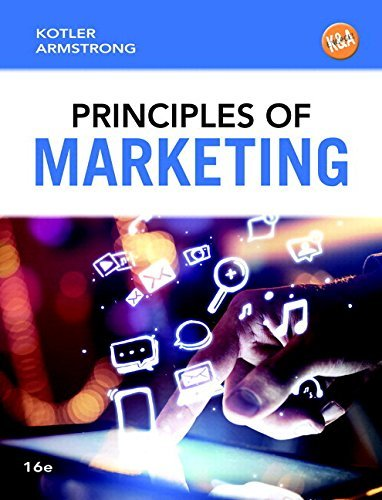 Principles of Marketing (16th Edition) by Philip T. Kotler (2015-01-09)