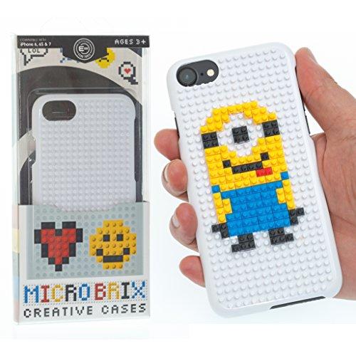 Apple iPhone 6, 6S, 7 Phone Case - Microbrix iPhone Cover + Bonus Bricks