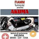 BATTERIA-CAMPER-AKUMA-FIAMM-Energy-Technology-spa-100-AH-12V-720A-EN-ORIGINALE-NUOVA