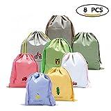 Materiale:  fibre sintetiche, dispone  morbido ed impermeabile  Colore:  8 colori   Dimensioni:  (permetta per favore l'errore di misura 0.5-1cm)  • Bag 1 L Dimensioni: 41 * 37 centimetri verde civetta  • Bag 2 L Dimensioni: 41 * 37...