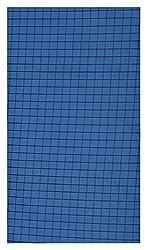 A. B. Cloth Mens Cotton Shirt Fabric (Black&Blue)
