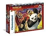 Clementoni 23693 - Maxi Kung Fu Panda Puzzle, 104 Pezzi