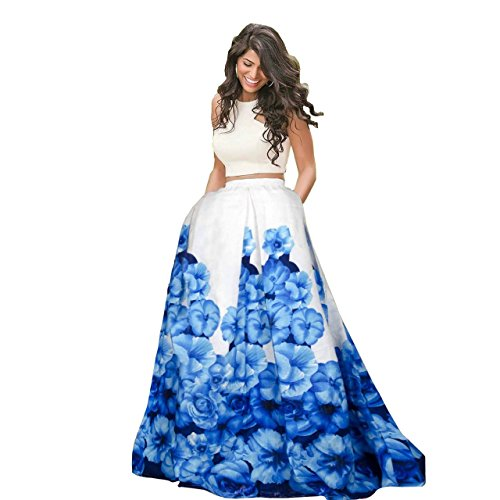 Riyan Enterprise Blue and White Color Latest Designer Party Wear, Traditional Lehenga...